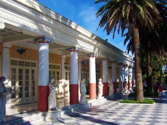 Achilleion auf Korfu