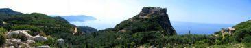 Korfu Fotos, Aggelokastro in Paleokastritsa