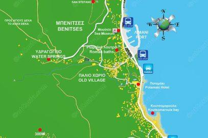 Benitses Karte-2014