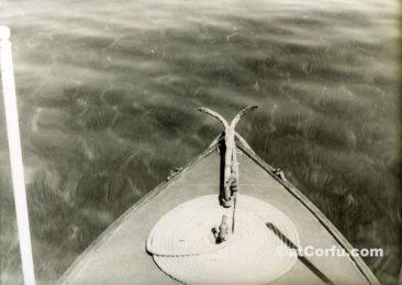 Benitses - Fischerboot 1960