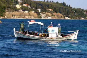 Benitses - Fischerboote