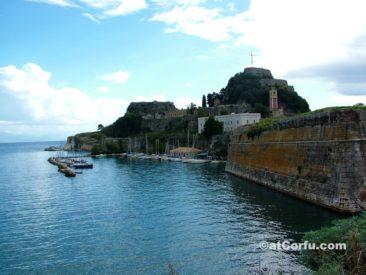 Korfu Fotos, alte Festung von Faliraki
