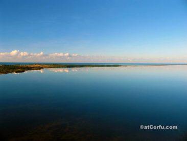 Korfu Fotos, See von Korission