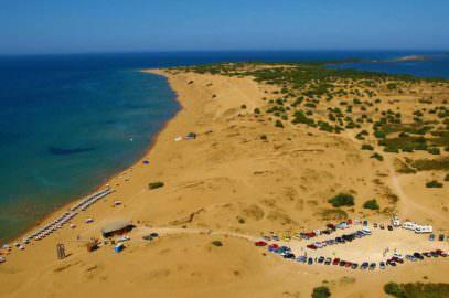 Issos Strand auf Korfu