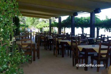 Benitses - Kaizer restaurant