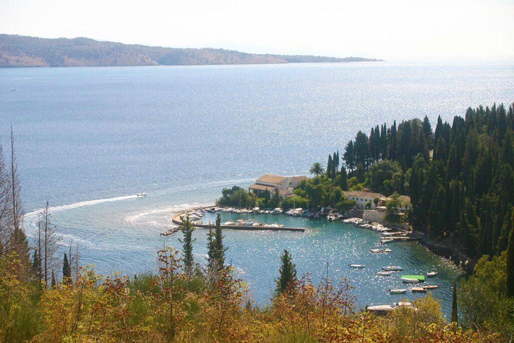 Korfu Fotos, Kouloura im Nordosten