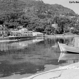 Benitses - im Hafen von 1977
