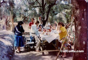 Benitses - Ostern von 1982