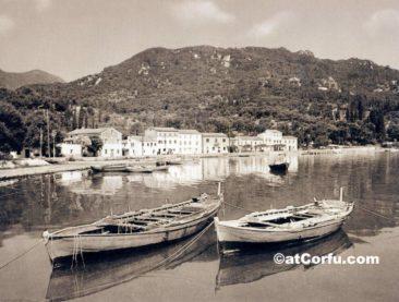 Benitses - im Hafen von 1960