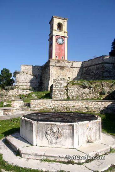 Korfu Fotos - in der alten Festung