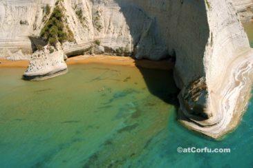 Korfu Fotos - Cape Drastis bei Peroulades