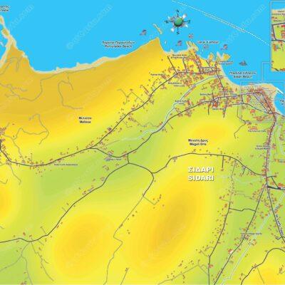 Sidari Karte