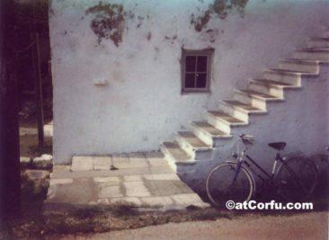 Die Treppe von Antigone