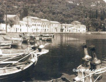 Benitses - Boote um 1960