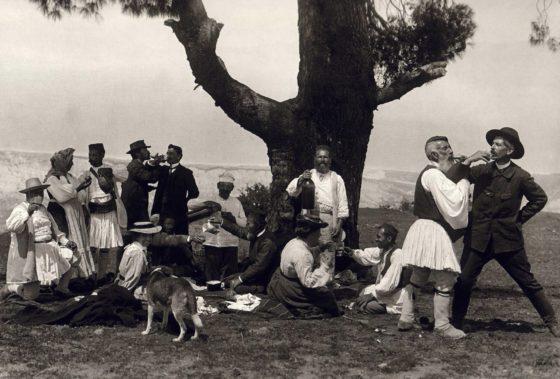 Fred und Daniel in Gemeno von Korinth 1913