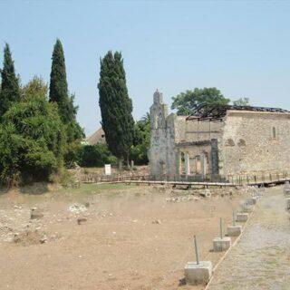 Nerantzicha-Turm im alten Korfu