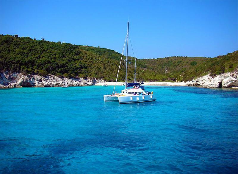 Kleine Bucht in Antipaxos