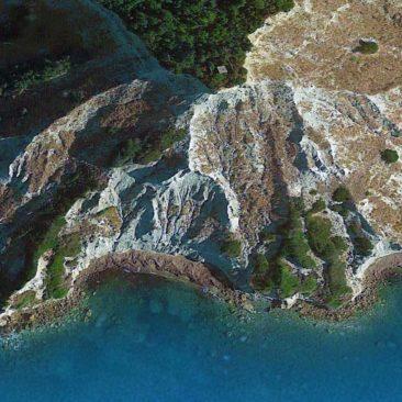 Asprokavos weiße Felsen