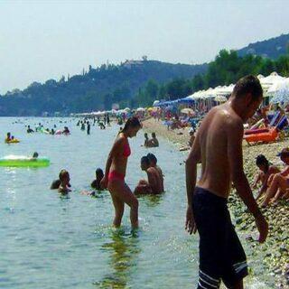 Barbati Strand Korfu