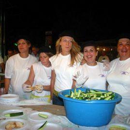 Sardinenfest in Benitses
