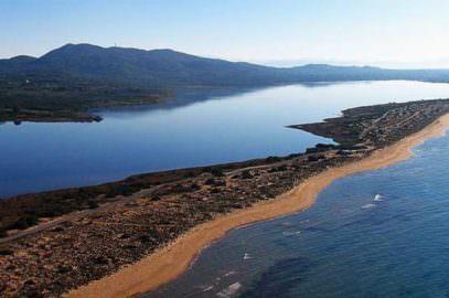 Chalikounas - der größte Sandstrand in Korfu