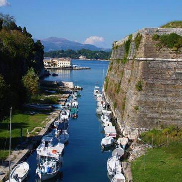 Korfu - Kontra Fossa in der alten Festung
