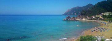 Korfu - Kontogialos Strand