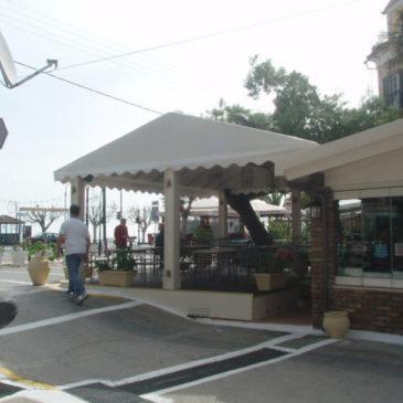 Lotza cafe in Benitses