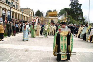 Korfu Ostern - Bilder von heiliger Woche