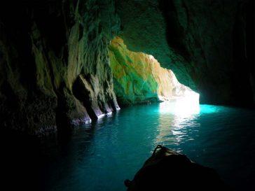 Kalypso-Höhle bei Othonoi