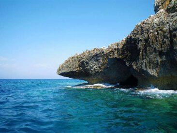 Felsen bei Othonoi