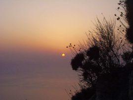 Sonnenuntergang bei Othonoi