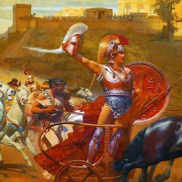 Korfu Achilleion - Triumph von Achilles