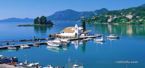 Mausinsel und Vlacherna in Korfu