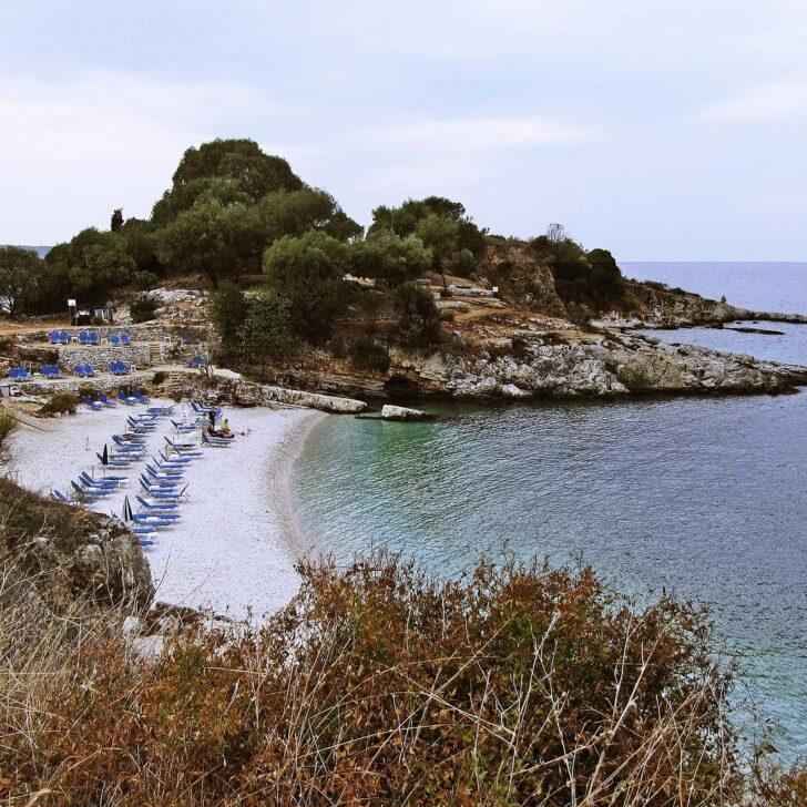 Bataria und Pipitos Strände in Kassiopi Korfu