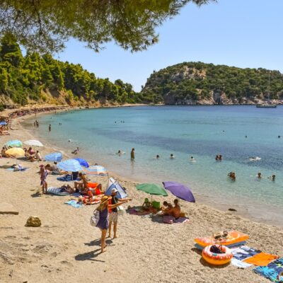 Stafylos beach Skopelos