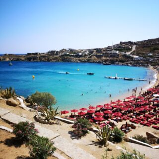 Super Paradise Strand in Mykonos