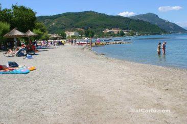 Μπενίτσες - παραλία στην Κουτσομαρούλα