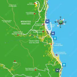 Μπενίτσες χάρτης-2014