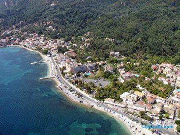 Μπενίτσες αεροφωτογραφίες - περιοχή Λουτρουβιά