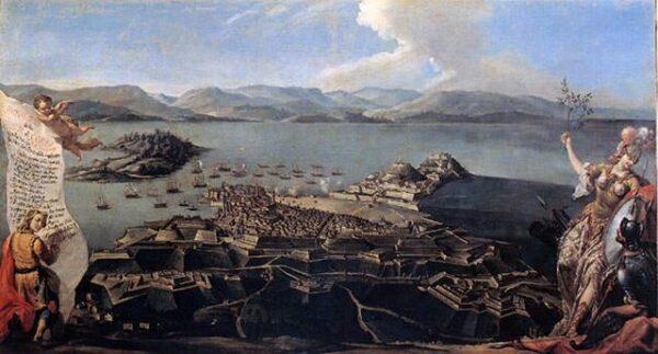Κέρκυρα ιστορία - μεσαιωνική Κέρκυρα, οι οχυρώσεις