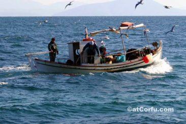 Μπενίτσες - ντόπιοι ψαράδες