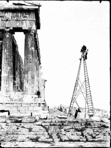 Ο Φρεντ Μπουασσονά φωτογραφεί τον Παρθενώνα
