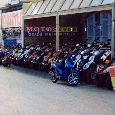 Μπενίτσες - Kerkyra bikes