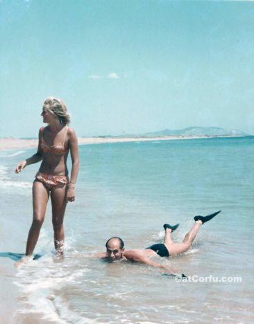Μπενίτσες - στο Χαλικούνα το 1974