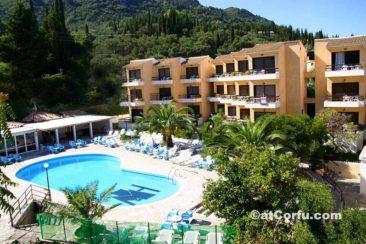Μπενίτσες - ξενοδοχείο Le Mirage