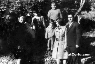 Μπενίτσες - οικογένεια Αντρέα Κοντού το 1972