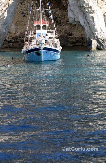 Κέρκυρα φωτογραφίες - θαλάσσιες σπηλιές στους Παξούς
