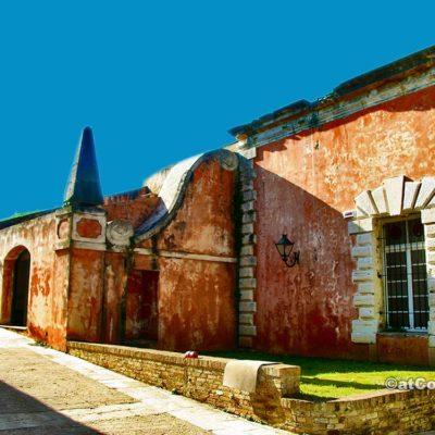 Κέρκυρα φωτογραφίες - κτίριο στο παλιό φρούριο