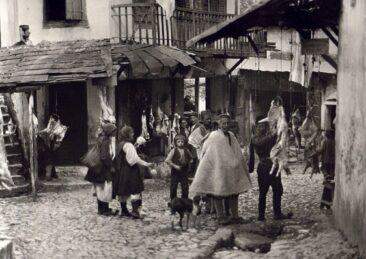 Κρεοπωλεία στην Παραμυθιά 1913